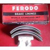 Brake linings Ford Consul Cortina