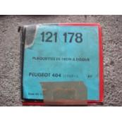 Peugeot 404 pastiglie freni