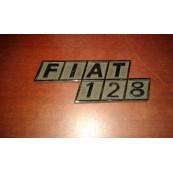 Fiat 128 targhetta post originale Cromodora