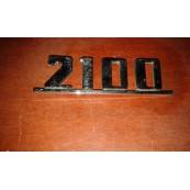 Fiat 2100 targhetta