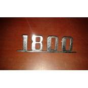 Fiat 1800 targhetta