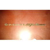 Alfa Romeo Ondine plate