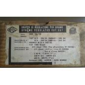 Fiat 1400 Diesel 615 regolatore tensione