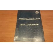Lancia Beta automatic service manual